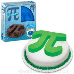 Pi Symbol Baking Mold
