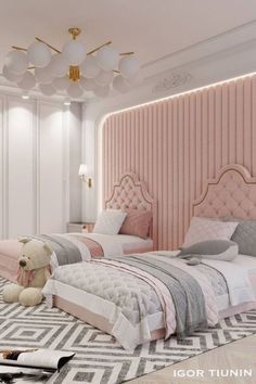 Discover more inspirations for interior design of kid's bedrooms with Circu Magical furniture: CIRCU.NET Luxury Kids Bedroom, Master Bedroom, Magical Bedroom, Top Interior Designers, Luxury Furniture, Bedroom Ideas, Bedroom Designs, Bedroom Decor, Kids Rooms