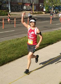 Yahoo!  Our own Dr. Mok runs his stretch of the 9th Colfax Marathon Relay.   You make running look fun and breezy Dr. Mok, thank you!