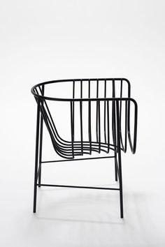 sièges, armature filaire, Nendo,sekitei Wire Chair