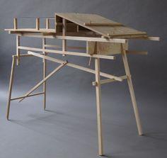 Plywood Furniture, Unique Furniture, Contemporary Furniture, Furniture Design, Plywood Floors, Crate Furniture, Chair Design, David Gates, Futuristic Furniture