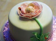 Baby Flower Cake