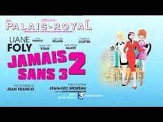 Programme TV - Jamais 2 sans 3 avec Liane Foly au Théâtre du Palais Royal - http://teleprogrammetv.com/jamais-2-sans-3-avec-liane-foly-au-theatre-du-palais-royal/