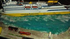 Corsica, Model Ships, Sardinia, Diorama, Nerf, Outdoor Decor, Dioramas