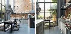 Google Image Result for http://lifeinsketch.com/wp-content/uploads/2012/09/2-Brick-Concrete-Home-in-Jordaan-Amsterdam_Kitchen-Diner.jpg