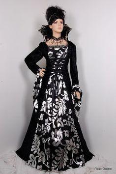 halloween wedding dresses 2 - Halloween Wedding Gown