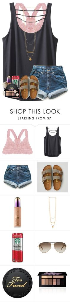 """""""take time and do what makes your soul happy"""" by kyliegrace ❤ liked on Polyvore featuring beauty, Humble Chic, Kavu, Levi's, American Eagle Outfitters, Gucci, Smashbox and Kendra Scott"""