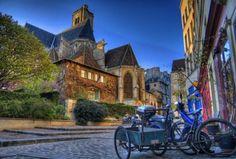 Paris 4e - Rue des Barres - L'église Saint-Gervais Saint-Protais en 2009.