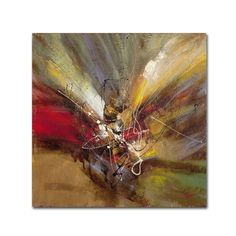Sunrise by Ricardo Tapia Painting Print on Wrapped Canvas