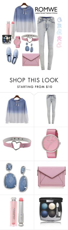 """""""Romwe"""" by susan-993 ❤ liked on Polyvore featuring Cheap Monday, Marc by Marc Jacobs, Rebecca Minkoff, Christian Dior, Chanel and Keds"""