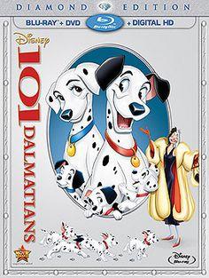 101 Dalmatians Diamond Edition Blu-ray + DVD + Digital HD