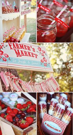 farmer's market party {lulu's party designs via shop sweet lulu}. Greyson's 2nd birthday or a baby girls first. Either way such a unique idea!
