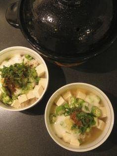Tofu Dashi-Chazuke