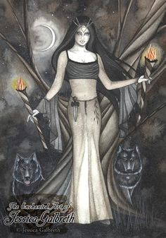 Hekate by Jessica Galbreth