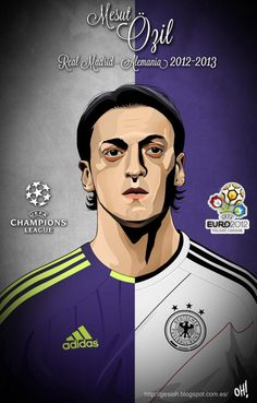 Mesut Özil, Real Madrid - Germany moved 2 arsenal but who cares Soccer Art, Football Soccer, Good Soccer Players, Football Players, Real Madrid, Premier League, Soccer Pictures, Uefa Champions, Best Club