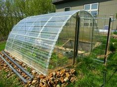 This is the completed solar greenhouse with cold frame. Buy Greenhouse, Greenhouse Supplies, Outdoor Greenhouse, Greenhouse Growing, Greenhouse Plans, Garden Supplies, Outdoor Gardens, Greenhouse Wedding, Portable Greenhouse
