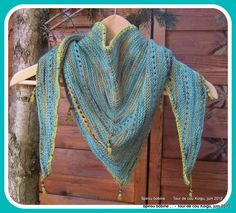 tutolibre - tutoriels - DIY gratuits - free DIY - tutorials - paso a paso - crafts- artesania - ремесел. Crochet Poncho, Knitted Shawls, Diy Crochet, Tricot D'art, Diy Tutorial, Knitting Patterns, Blog, Women, Bonnets
