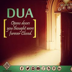 Do not limit your dua's, for it is Allah who can transform the impossible into possible with His Might. .