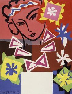 © Henri-Émile-Benoît Matisse - Madame de Pompadour (1951)