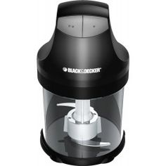 Black and Decker EHC750BD 3-Cup Ergo Chopper, Black