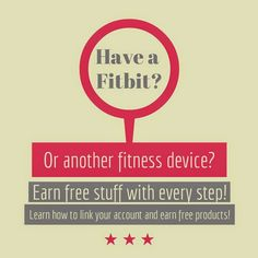Learn how to link your Fitbit to earn free stuff with your workouts!