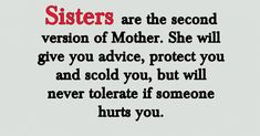 These sister quotes are sure to touch all the strings of your heart. So, here we go with the best sister quotes that will help you to express your feeling of love when you Brother Sister Love Quotes, Brother And Sister Love, Best Quotes For Sister, Brother Sister Relationship Quotes, Sister Qoutes, Best Sister, Sister Friends, Nephew Quotes, Cousin Quotes
