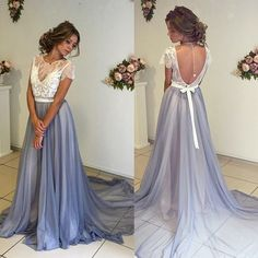 Backless Prom Dress,Lace Prom Dress,Illusion Prom Dress,Fashion Prom Dress,Sexy Party Dress, New Style Evening Dress by lass, $168.00 USD