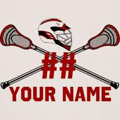 YouGotThat.net Personalized Crossed Lacrosse Sticks with Helmet RThank you for choosing YouGotThat!  We appreciate your business and hope you'll remember www.YouGotThat.com for all your lacrosse gifts!  Find us on Facebook (www.facebook.com/YouGotThat) to see new designs first.