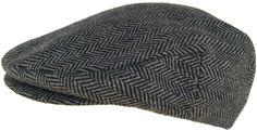 Headchange Made in USA 100% Wool Herringbone Ivy Scally Cap
