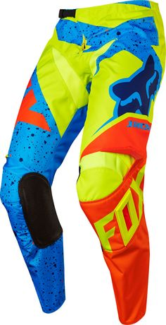 Fox MX Pants 180 Nirv Yellow/Blue 2017