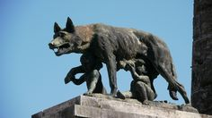 S002 Wolf Romulus and Remus | par JohnB Flickr