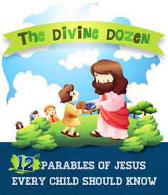 12 Parables of Jesus Every Child Should Know (To buy) This pack is filled with informative yet entertaining lessons, fun activities and tasty snack ideas Bible Study For Kids, Scripture Study, Children's Bible, Kids Bible, Church Activities, Bible Activities, Sunday School Lessons, Sunday School Crafts, Bible Lessons