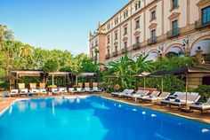 Hotel Alfonso XIII - Seville, Spain One of the...LuxyTrips.com