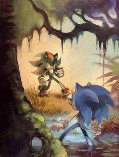 colorful, sega, and Sonic the hedgehog image