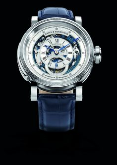 The BLUE WHIRLWIND by GRIEB & BENZINGER, GRIEB & BENZINGER Timepieces and Luxury Watches on Presentwatch
