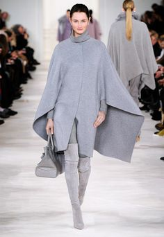 Glamour with an air of effortlessness, from the Ralph Lauren Fall 2014 Collection