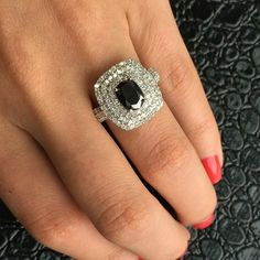 Spice up any outfit with this gorgeous cocktail ring! #giftguide #cocktailring