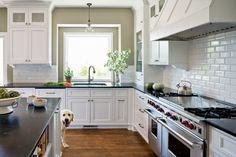 Newly revamped Victoria kitchen