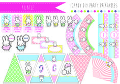 NIJNTJE MIFFY PARTY PRINTABLES https://www.facebook.com/icandydiypartyprintables