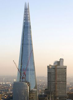 Renzo Piano Building Workshop - Projects - By Type - London Bridge Tower
