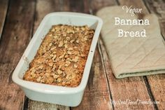 Homemade banana bread is so delicious and easy to make vegan with ingredients you probably already have on hand.
