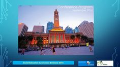 EnACTing The Common Good: What does this mean for social and citizenship education? Citizenship Education, Conference Program, Australian Curriculum, Brisbane, Teaching, Building, Travel, Viajes, Buildings