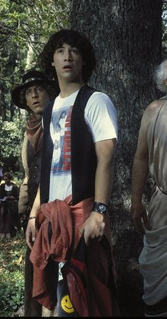 Bill & Ted's Excellent Adventure photos, including production stills… Keanu Reeves Young, Keanu Charles Reeves, Ted Halloween, Keanu Reaves, Travel Movies, Movie Lines, Hot Actors, The Good Old Days, Film Movie