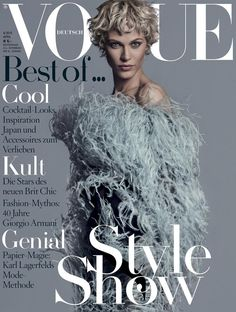 Vogue Germany APRIL 2015 COVER (Vogue Germany)