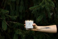 Ranger Station candle... Batch 001: Leather + Pine