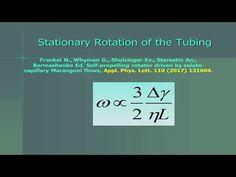 Almost Perpetuum Mobile driven by Marangoni Flows (Professor Bormashenko, Ariel University) - YouTube