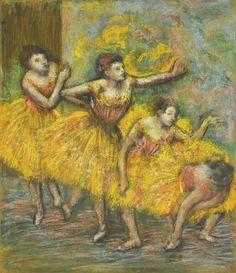 Quatre danseuses (ca. 1903) - Edgar Degas