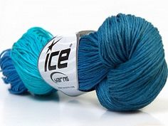 Fiber Content :100% Linen Needle Size :3 - 4 mm. / US 3 - 6 Color :Turquoise, Blue Shades Weight :100 gr. / 3.53 oz. per ball Length :133 m. / 145.5 yds. per ball Yarn Thickness :2 Fine: Sport, Baby Yarn Tags :Summer Yarn, Linen, Hand-dyed, 100% Linen, Multicolor