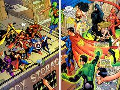 Avengers/JLA - George Perez