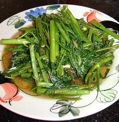 Pad Pak Boong ( stir fried morning glory), just tried this recipe and loved it!!